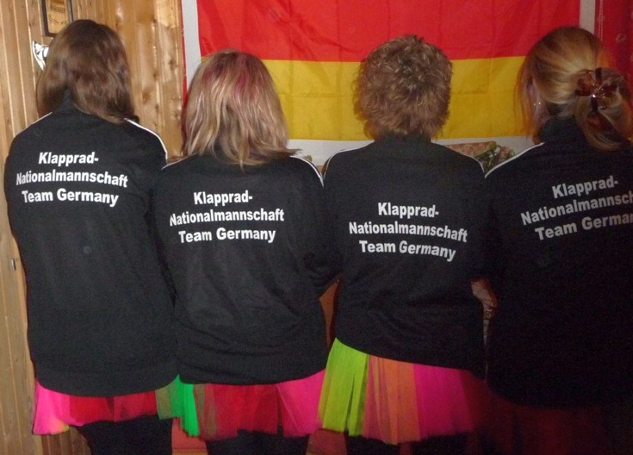 Team-Logo Klapprad-Nationalmannschaft Team Germany III
