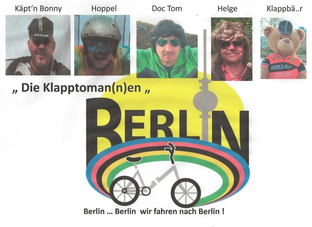 Team-Logo Die Klapptoman(n)en