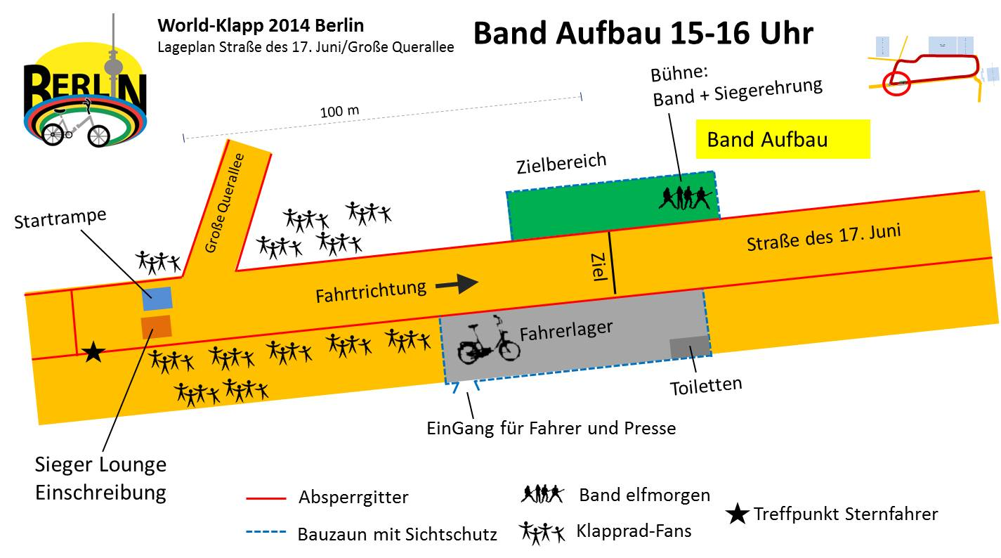 World-Klapp 2014 Lageplan Aufbau Band