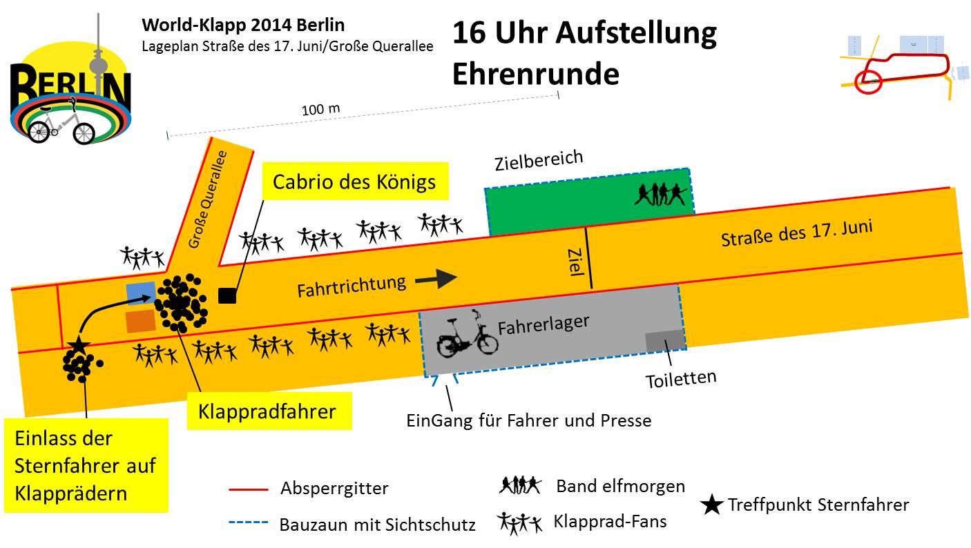 World-Klapp 2014 Lageplan Ehrenrunde