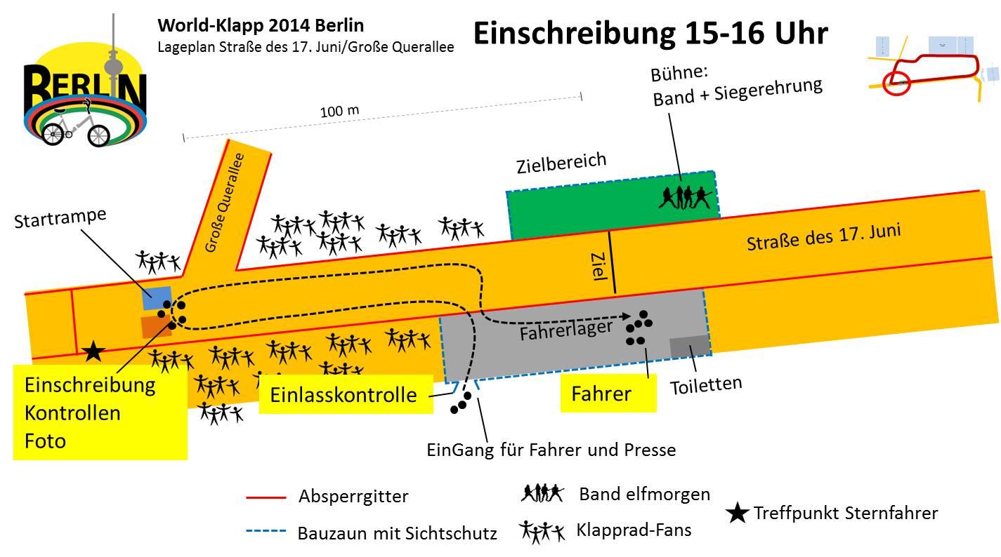 World-Klapp 2014 Lageplan Einschreibung