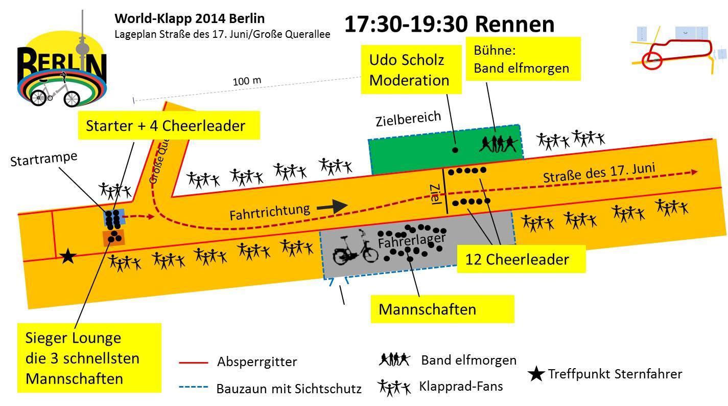 World-Klapp 2014 Lageplan Rennen