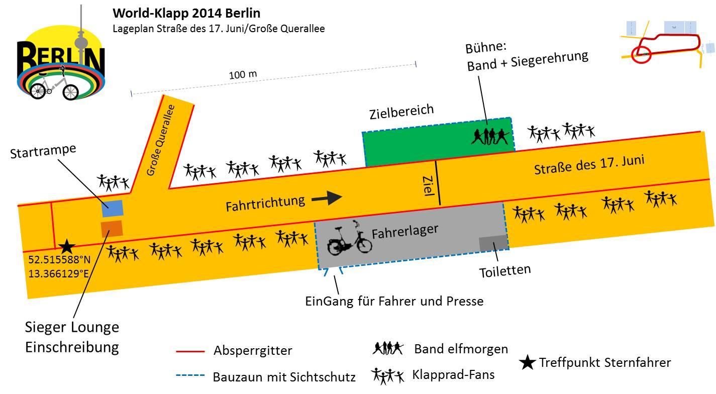 World-Klapp 2014 Lageplan Start- Zielbereich