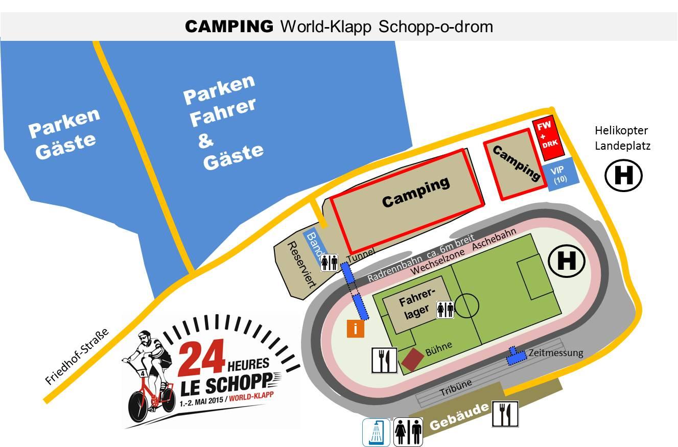 Lageplan Camping