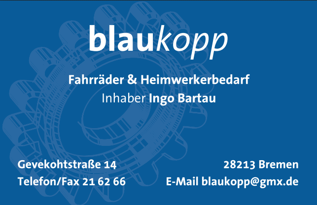 blaukopp Fahrräder & Heimwerkerbedarf Bremen