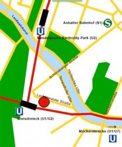 Karte Station Berlin