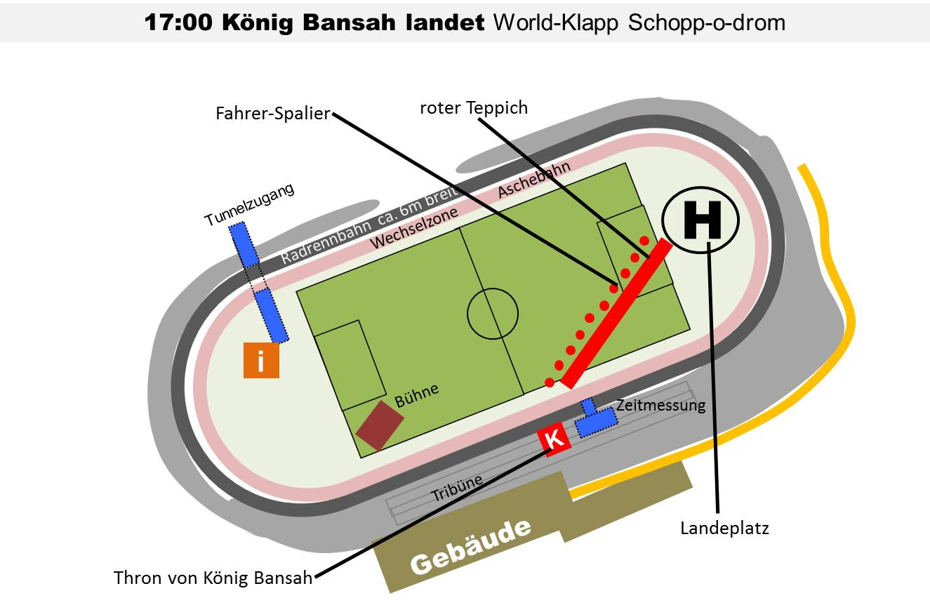 Lageplan Landung Bansah